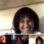 Google+ Hangout with Patricia Gozlan