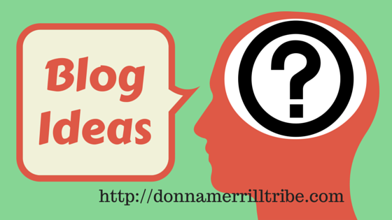 How to get blog ideas