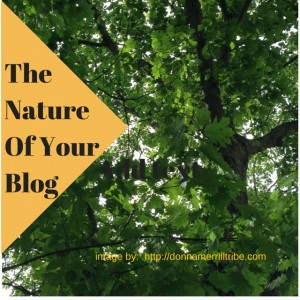 The Nature Of Your Blog