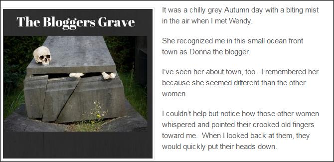 Blogger's Grave