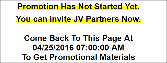 Anatomy of a JV Giveaway Event
