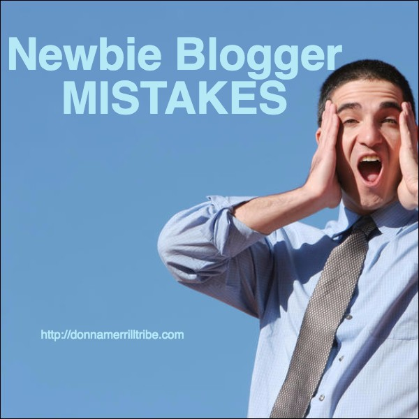 5 Top Newbie Blogger Mistakes