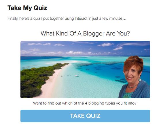 Listbuilding Quizzes