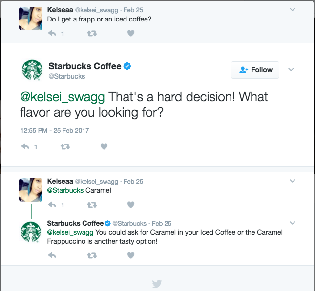 Starbucks Twitter Talk