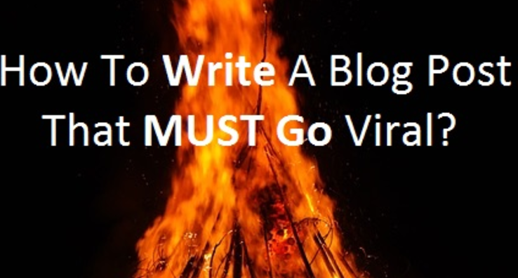 Write A Viral Blog Post