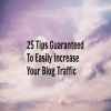 Easily Increase Your Blog Traffic