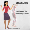 Checklists Can Improve Your Productivity and Focus