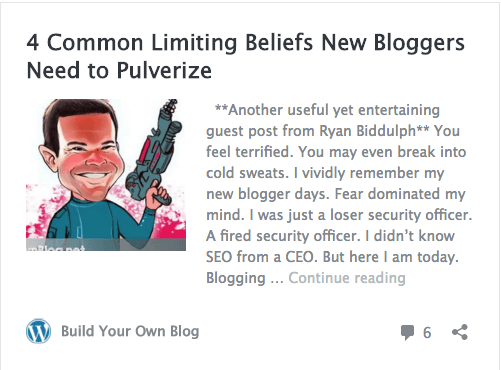 4 Common Limiting Beliefs New Bloggers Need To Pulverize