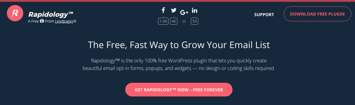How to Build Your Email List with Rapidology