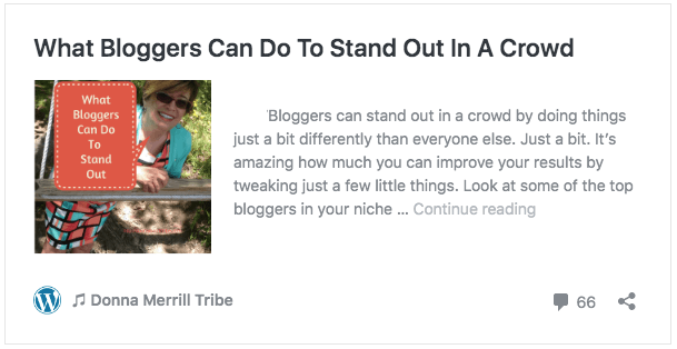 What Bloggers Can Do To Stand Out In A Crowd