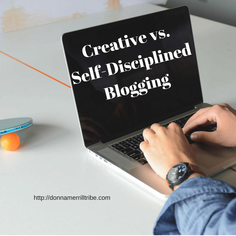 Creative vs Self-Disciplined Blogging