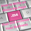 how to write an About Me page that will increase your business