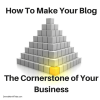 How To Make Your BlogThe Cornerstone of Your Business