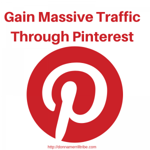 gain massive traffic through Pinterest