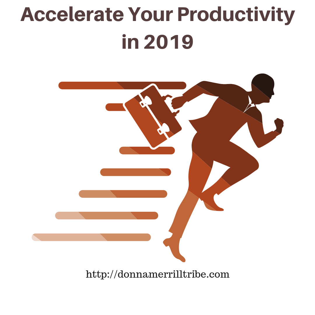 How to Accelerate Your Productivity in 2019 to be a top blogger