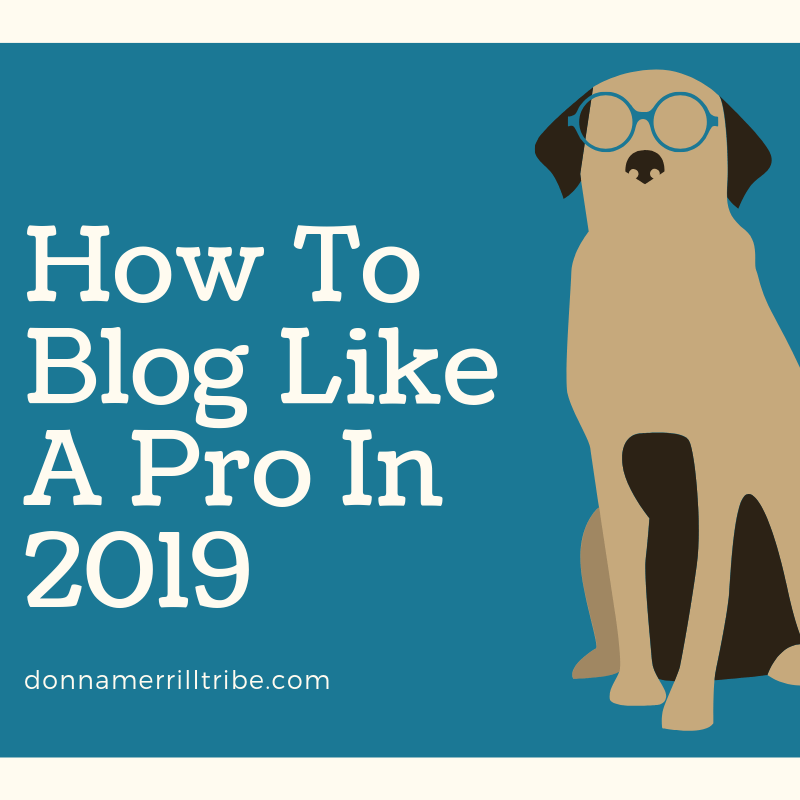 How to Blog like a pro in 2019