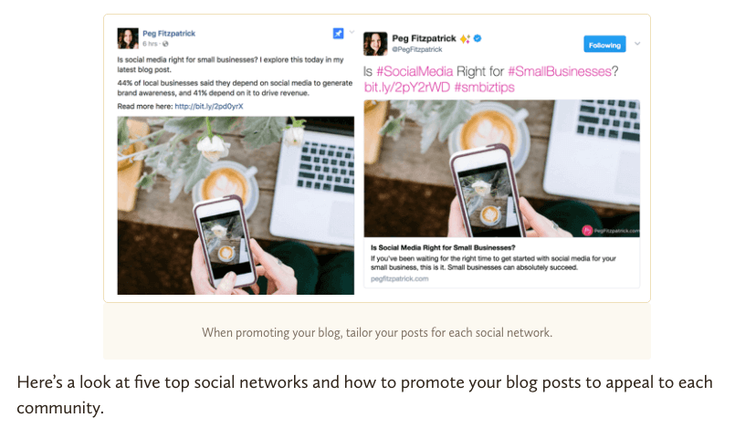Share Your Blog Post On Social Media