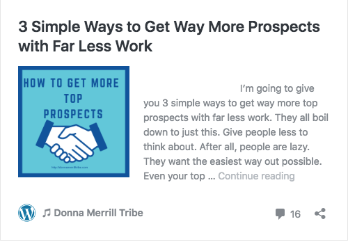3 Simple Ways to Get Way More Prospects with Far Less Work