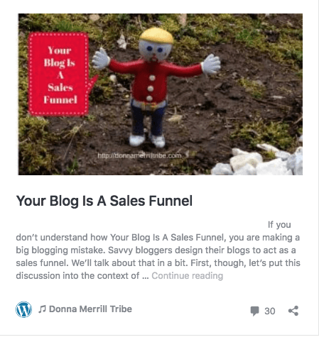 your blog is a sales funnel