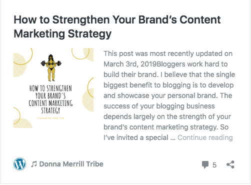 Brand Content Marketing Strategy