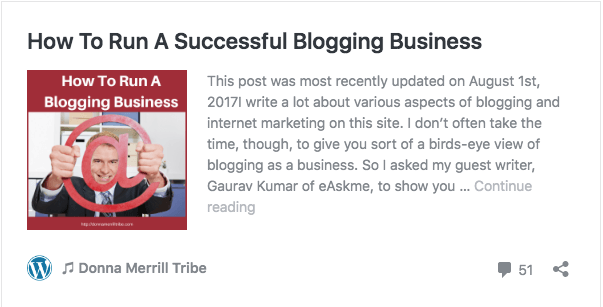 How to run a successful blogging business