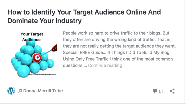identify your target audience online