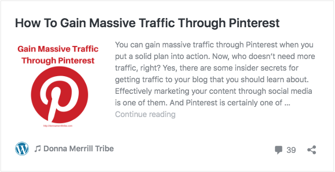 How To Gain Massive Traffic Through Pinterest