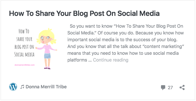 How To Share Your Blog Post On Social Media