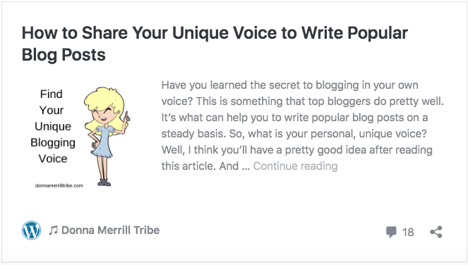 How to Share Your Unique Voice to Write Popular Blog