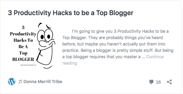 3 Productivity Hacks to be a Top Blogger