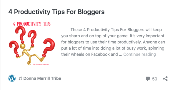 4 Productivity Tips For Bloggers