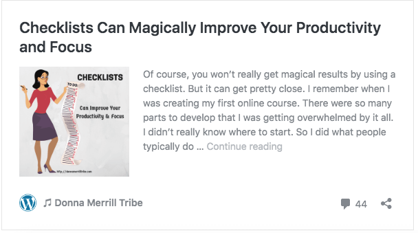 Checklists Can Magically Improve Your Productivity and Focus