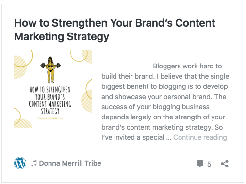How to Strengthen Your Brand's Content Marketing Strategy