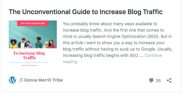 The Unconventional Guide to Increase Blog Traffic