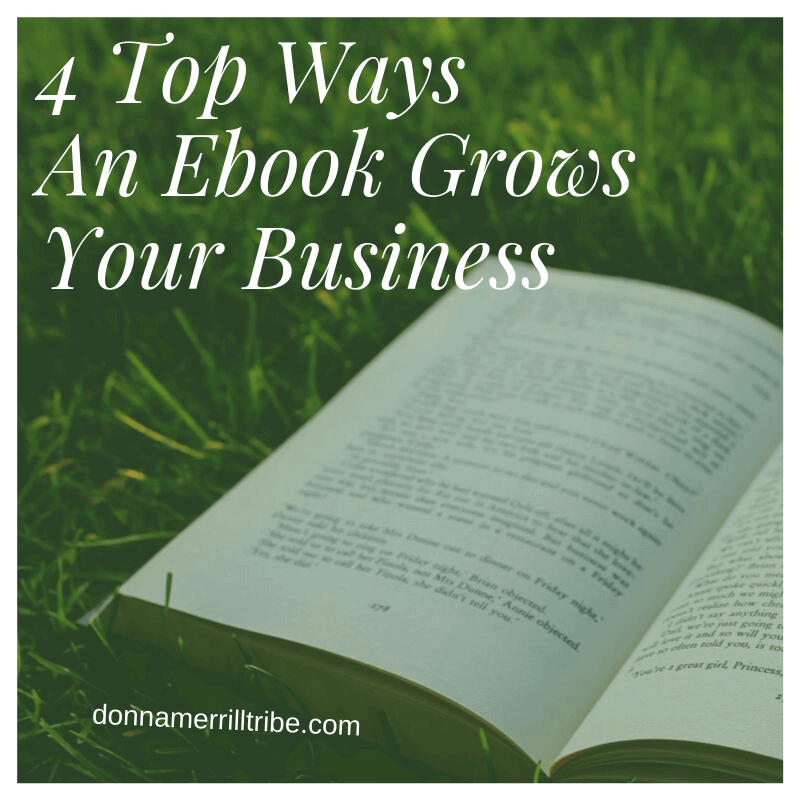 4 Top Ways An Ebook Grows Your Business