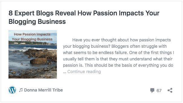 8 Expert Blogs Reveal How Passion Impacts Your Blogging Business