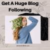 Get A Huge Blog Following