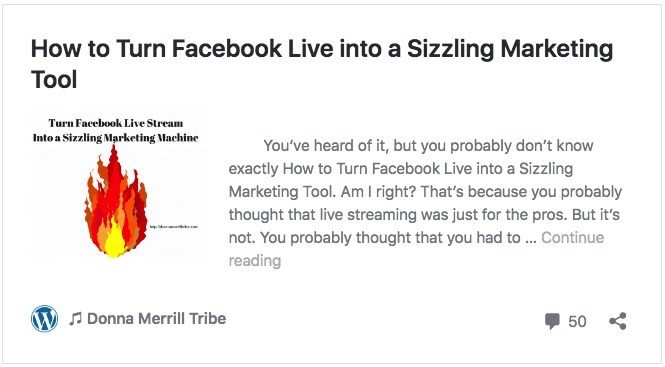 How to Turn Facebook Live into a Sizzling Marketing Tool