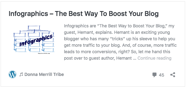 Infographics – The Best Way To Boost Your Blog