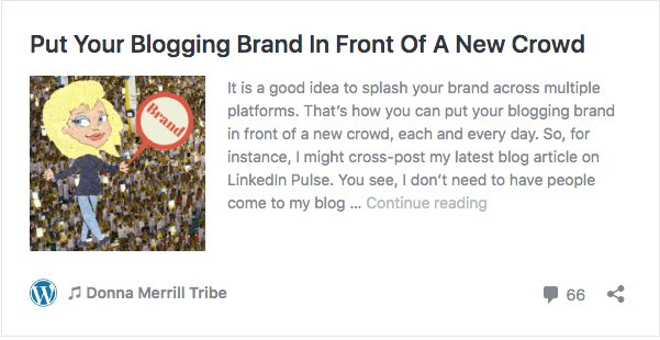 Put Your Blogging Brand In Front Of A New Crowd