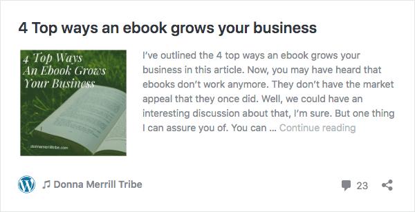 4 Top ways an ebook grows your business