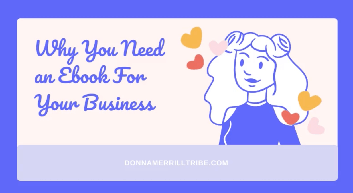 Why you need an ebook for your business