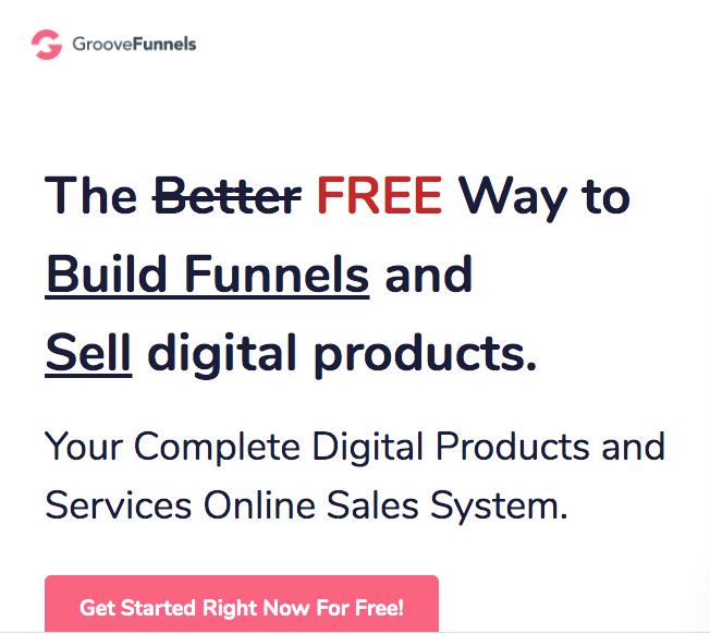 GrooveFunnels signup