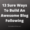 Build An Awesome Blog Following