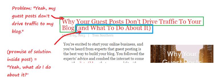 blogs solve problems