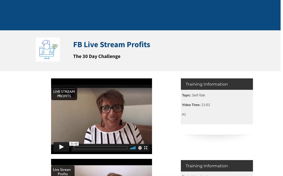 Facebook Live course #1