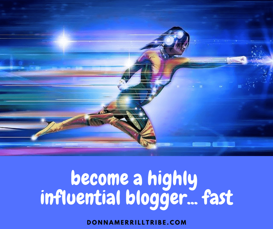 influential blogger fast