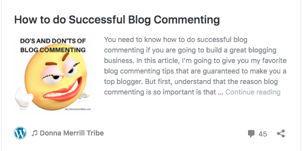 How to do successful blog commenting