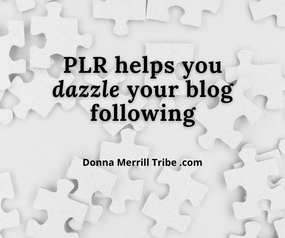 PLR for your blog following