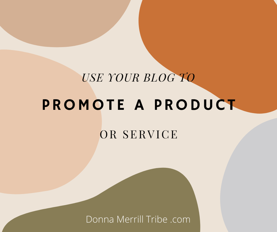 blog promote product